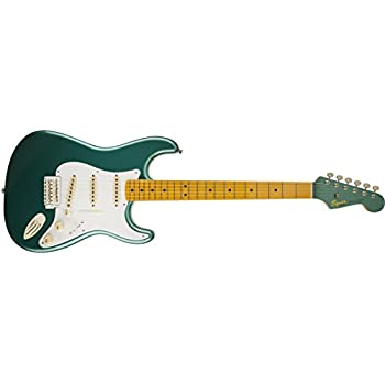 Fender Squier Classic Vibe 50s Stratocaster Electric Guitar - Sherwood Green Metallic - Maple Fingerboard