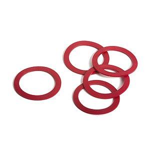 Massoth 5 Haftreifen für Rad 37,5, rot, 32x25mm, Spur G für LGB Loks Spur G für LGB Loks