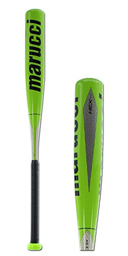 Marucci Hex Alloy Senior League Baseball Bat with 2 3/4