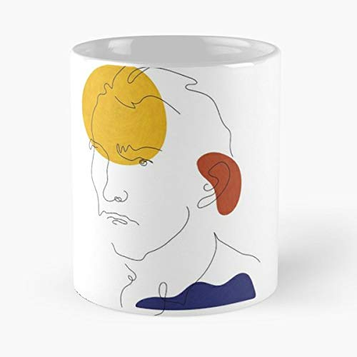Savant Vincent Van Gogh - Coffee Mugs Unique Ceramic Novelty Cup For Holiday Days 11 Oz.