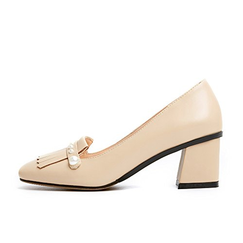 Nine SevenPump Shoes - Sandalias con cuña mujer albaricoque