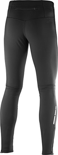 Salomon Men's Trail Runner WS Tight, Black, Large by Salomon (Image #2)