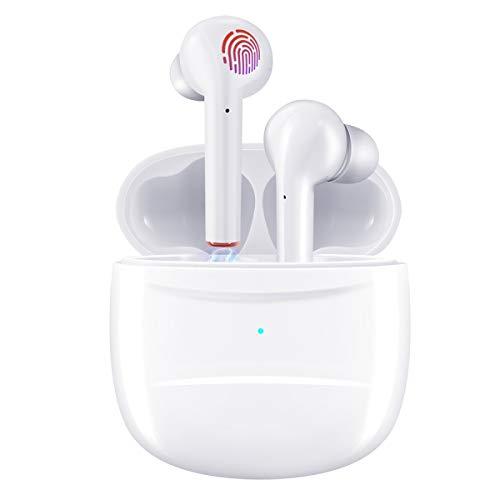 Wireless Earbuds, Nexear Bluetooth 5.0 Earbuds Headphones, True Wireless Stereo Earphones with 30Hrs Playtime, Hi-Fi…