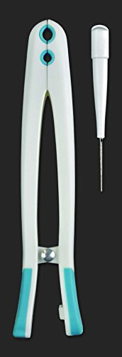 (Bead Buddy Magic Bead Holder and Bead Reamer-Beading Tool for Smoothing and Finishing Beads-Jewelry Making Beading Tool with Compartments to Hold Individual Beads While You Work)