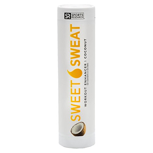 Sweet Sweat Jar - NEW: Sweet Sweat Coconut Stick - 6.4oz | Helps increase circulation, sweating and motivation during exercise | Made in the USA