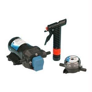 Jabsco 31605-0092 Marine ParMax 3 Washdown Water Pump Kit (3.5-GPM, 50-PSI, 12-Volt, 15-Amp)
