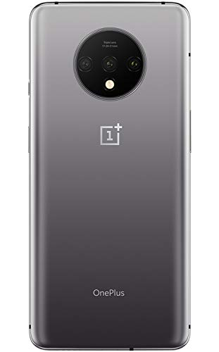 OnePlus 7T HD1907, 8GB RAM + 128GB Memory, GSM 4G LTE Factory Unlocked for AT&T T-Mobile, Single Sim, US Model (Frosted Silver)