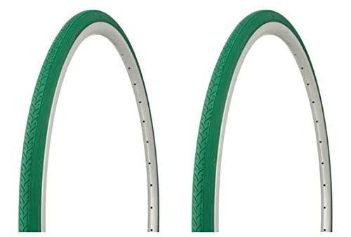 Lowrider Tire Set. 2 Tires. Two Tires Duro 700 x 25c Green/Green Side Wall HF-187. Bicycle Tires, Bike Tires, Track Bike Tires, Fixie Bike Tires, Fixed Gear Tires
