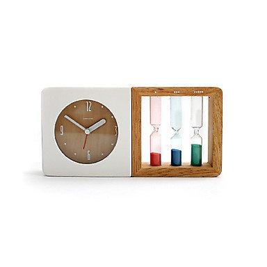 "9 ""Estilo Moderno H con reloj de arena reloj de sobremesa"