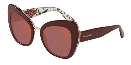 Bordeaux Peony And E Mujer Dolce On 0dg4319 Sol Para De Gabbana Gafas 51 Rose U8qTxF48