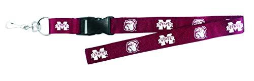HY-KO Products LAN-397 Mississippi State Bulldogs NCAA Team Lanyard, Multi