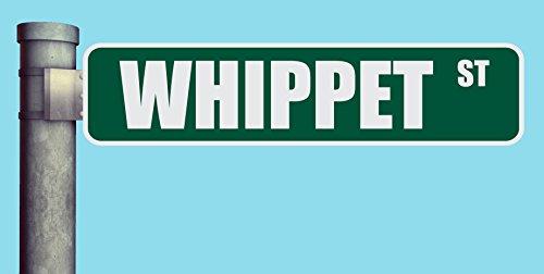 WHIPPET ST STREET SIGN HEAVY DUTY ALUMINUM ROAD SIGN 17
