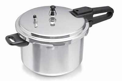Imusa 4.4 Quart Aluminum Pressure Cooker by Imusa USA