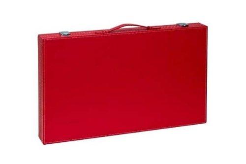 "18"" Red Backgammon Set"