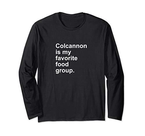 (Colcannon Is My Favorite Food Group Irish Shamrock)