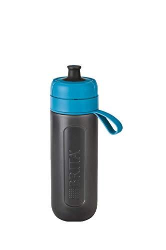 BRITA Active Blue Waterfilterfles, robuuste sportdrinkfles met waterfilter, voor onderweg, van BPA-vrij kunststof…