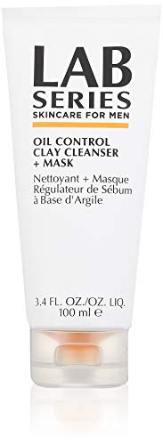 Lab Series Oil Control Clay Cleanser Plus Mask, 3.4 Ounce