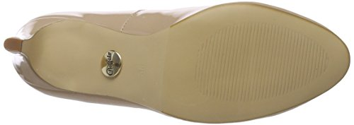 Scarpe Donna 01 Pu Buffalo Beige P2010f 1 C564a Tacco Patent Con nude wZPT8XP