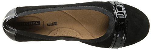 CLARKS Damen Kinzie Light Loafer Flat Schwarz
