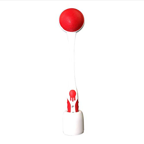 Massager Neck Health Leg Hammer Meridian Beat to Relieve Aching Massage  Hammer to Send Elders (Color : Red and White)