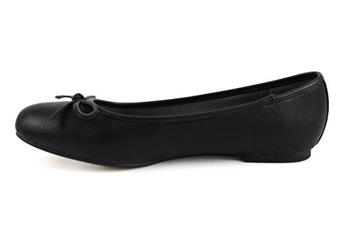 On Slip Size 42 Black to Andres Shoes EU 10 Soft AM5049 8 Range 5 45 Shiny Sizes Fabric UK Flat Machado Large to wqqvXIxp
