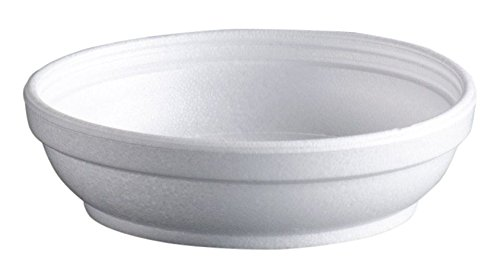 DART 5B20 Insulated Foam Bowls, 5 oz., White, Pack of 50
