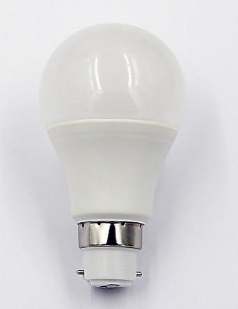 &g & g & 7W Bombilla LED blanco normal lámparas 300 grados, luz blanca cálida