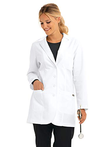 - Grey's Anatony Women's Lab Coat, White, X Small