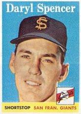 1958-topps-regular-baseball-card-68-daryl-spencer-of-the-san-francisco-giants-vg-condition