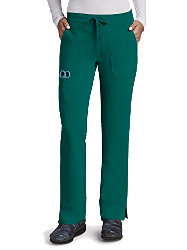 Grey's Anatomy Signature 2207 Callie Low Rise Pant Hunter Green XS ()
