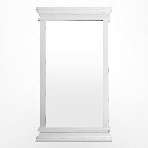 NovaSolo Halifax Portrait Mirror, White by NovaSolo