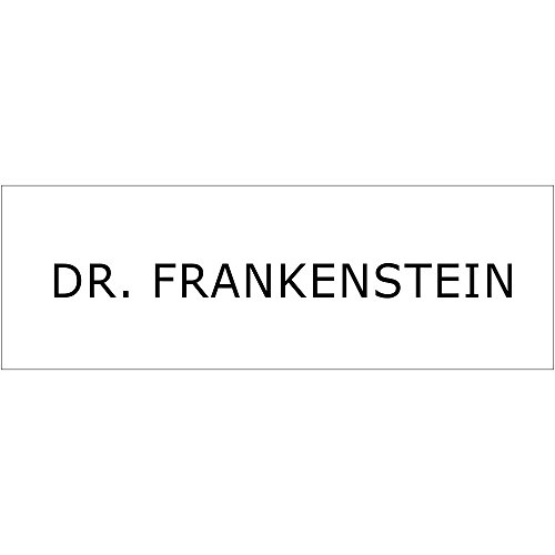(Dr. Frankenstein Halloween Costume Name Tag - Funny Halloween)