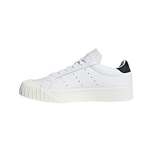 Adidas Para Zapatillas Blanco Mujer Originals Black De White Cuero rarIw