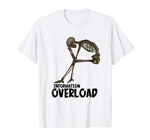 Halloween Information Overload Skeleton ()
