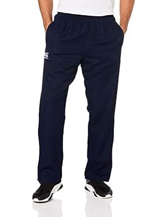 Canterbury Men's Team Plain Track Pant Senior (New Fit), Navy/White, Xs