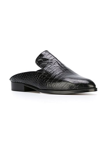 Robert Clergerie Black Alice Mules 40 / 9.5 by Robert Clergerie