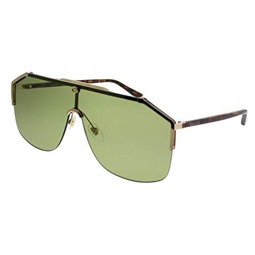 Gucci gg0291s 100% Authentic Men's Sunglasses Gold 004 from Gucci