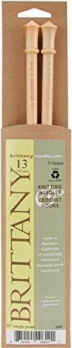 Brittany SP1013 Single Point Knitting Needles 10