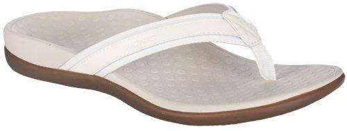 Metallic Patent Footwear (Vionic by Orthaheel Womens Tide II Sandal Pewter Metallic Size)