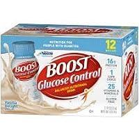 Boost Glucose Vanilla delight, 8oz , pack of 12