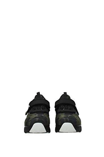 Donna Verde Eu 3e6322jacquard Sneakers Tessuto Prada 85zq7