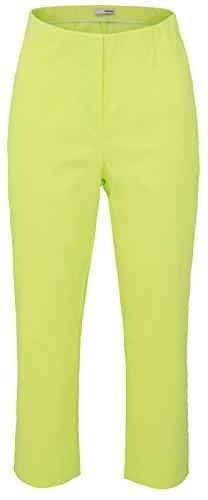 Citron Uni Blanc Stehmann Blanc Vert Femme Pantalon 0vq0wO8