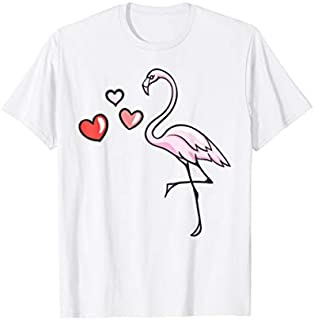 PINK FLAMINGO Watercolor  | Bird Painter Tee Gift T-shirt | Size S - 5XL