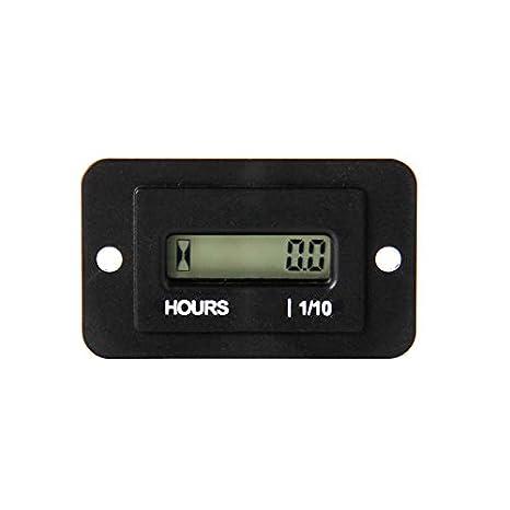 Jayron JR-HM010AC Medidor de hora LCD rectangular AC86-230V ...