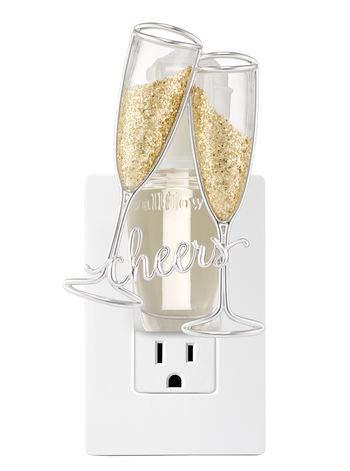 シャイニング歪めるカカドゥ【Bath&Body Works/バス&ボディワークス】 ルームフレグランス プラグインスターター (本体のみ) チアーズシャンパン ナイトライト Wallflowers Fragrance Plug Cheers Champagne Night Light [並行輸入品]