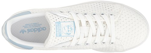 Leather White Womens Adidas Smith Stan White Trainers Easy Blue qtza17xwaA