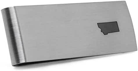 Montana Money Clip | Stainless Steel Money Clip Laser Engraved In The USA.