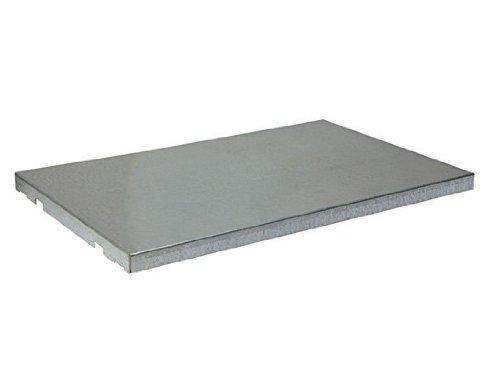 Justrite 29938 SpillSlope Galvanized Steel Shelf, 39-3/8'' Width x 8-5/8'' Depth, For 20 Gallon Wall Mount Safety Cabinet