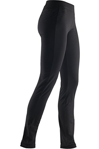 Icebreaker Women's Villa Leggings, Black, Large (Icebreaker Wool Leggings)