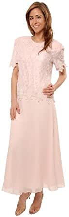 The Evening Store Great Tea Length Dress in Pink (small)